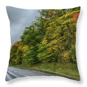 Glory Of The Trees Throw Pillow