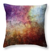 Glory Oil Abstract Painting Throw Pillow