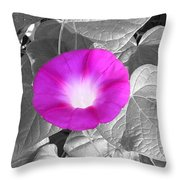 Glory Pink Throw Pillow