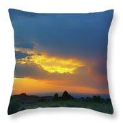Glory Rays - Albuquerque Throw Pillow