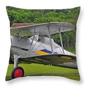 Gloster Gladiator Throw Pillow