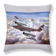 Gloster Meteor Throw Pillow