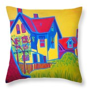Gloucester Hilltop Throw Pillow