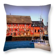 Gloucester Industry Throw Pillow