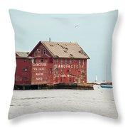Gloucester Manufactory Throw Pillow