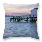 Gloucester Sunset Throw Pillow