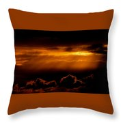 Glourious Sunrise Throw Pillow