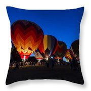 Glow 2015 Throw Pillow