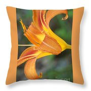 Glow Of A Lily Throw Pillow