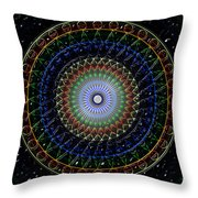 Glow Of The Ferris Wheel Throw Pillow