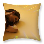 Glow So Happy Throw Pillow