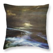 Glow Trail Throw Pillow