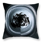 Glowing Act Throw Pillow