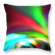 Glowing Arches Throw Pillow