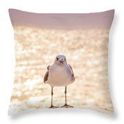 Glowing Day Throw Pillow