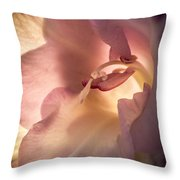 Glowing Glad Throw Pillow