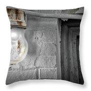 Glowing Globe Throw Pillow