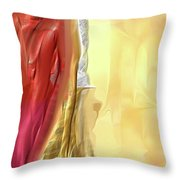 Glowing Joy Throw Pillow