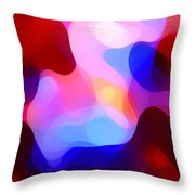 Glowing Light Throw Pillow