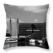Gloucester Warehouse 2 Throw Pillow