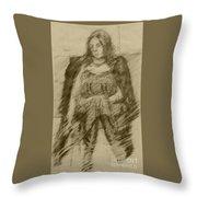 Glum Gillian Throw Pillow