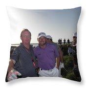 Gmac  Mark Robinson And Ken Throw Pillow