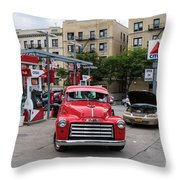 Gmc Pickup Throw Pillow