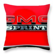 Gmc Sprint 001 Throw Pillow