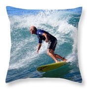 Go For It 001 Throw Pillow