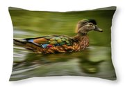 Go For It Throw Pillow