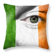 Go Ireland Throw Pillow by Semmick Photo