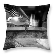 Go On Go Throw Pillow