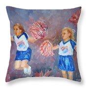 Go Team Throw Pillow