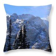 Go Tell It On The Mountain Throw Pillow