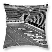 Go Tigers Throw Pillow