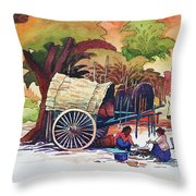Go To Pagoda Throw Pillow