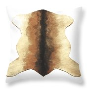 Goat Skin #2 Throw Pillow