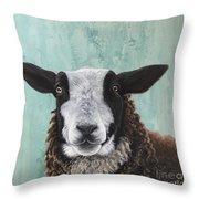 Goat Tee Throw Pillow