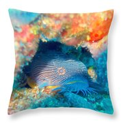 Goatfish Throw Pillow