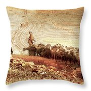 Goatherd Throw Pillow