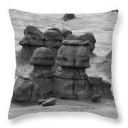 Goblin Valley 0204 Throw Pillow