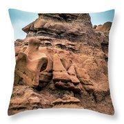 Goblin Valley 8 Throw Pillow