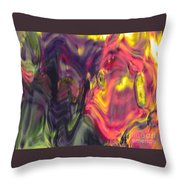 Trickster Goblins Of Our Minds Throw Pillow