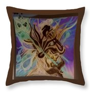 God After Me Throw Pillow