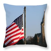 God And Country 2 Throw Pillow