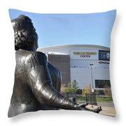 God Bless The Flyers - Kate Smith Throw Pillow