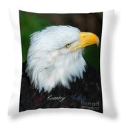 God Country Family Throw Pillow