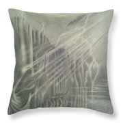 G . O . D   In The Mount. Throw Pillow