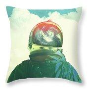 God Is An Astronaut Throw Pillow