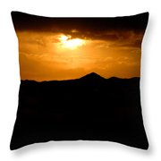 God Is Watching Throw Pillow